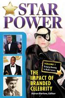 Star Power  The Impact of Branded Celebrity  2 volumes  PDF