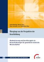 berg  nge aus der Perspektive der Berufsbildung PDF