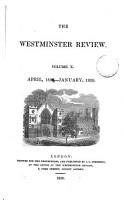 THE WESTMINSTER REVIEW  VOL  X  APRIL 1828   JANUARY 1829  NO  XIX  NO  XX  PDF