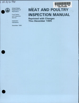 Meat and Poultry Inspection Manual
