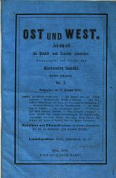 Ost und West: Zeitschrift für Politik und slavische Interessen, Band 5