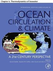 Ocean Circulation and Climate: Chapter 6. Thermodynamics of Seawater, Edition 2