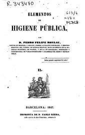 Elementos de higiene pública: Volumen 2
