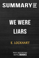 Summary of We Were Liars  Trivia Quiz for Fans