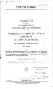 Eliminating Illiteracy PDF
