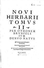 Herbarium Oth. Brunefelsii