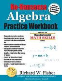 No Nonsense Algebra Practice Workbook