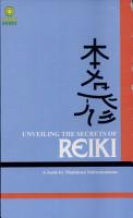 The Unveiling The Secrets Of Reiki PDF