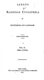 Alden's Manifold Cyclopedia of Knowledge and Language: Volume 37