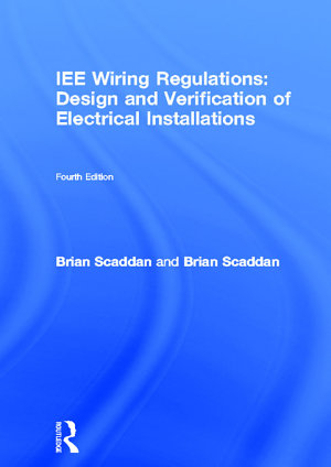16 Edition IEE Wiring Regulations Design   Verification