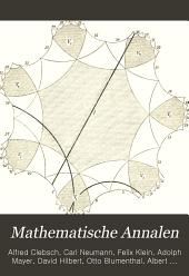 Mathematische Annalen: Volume 52