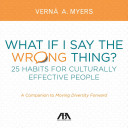 What If I Say the Wrong Thing  Book