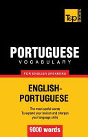 Portuguese Vocabulary for English Speakers   9000 Words PDF