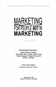 Marketing for People Not in Marketing PDF