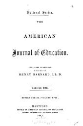 The American Journal of Education: Volume 17