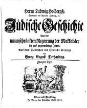 Jüdische Geschichte von Erschaffung der Welt bis auf gegenwärtige Zeiten