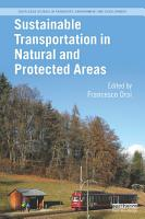 Sustainable Transportation in Natural and Protected Areas PDF