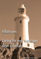 Affaircare  Caring for Your Marriage After an Affair PDF