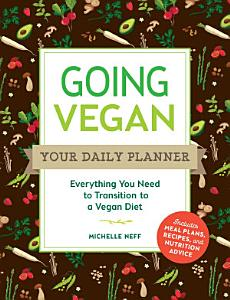 Going Vegan  Your Daily Planner Book
