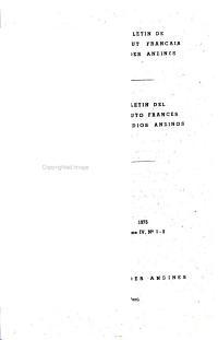 Bulletin de l Institut fran  ais d   tudes andines PDF