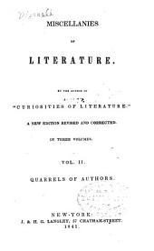 Quarrels of authors