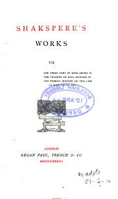 Shakspere's works [from the text of N. Delius].