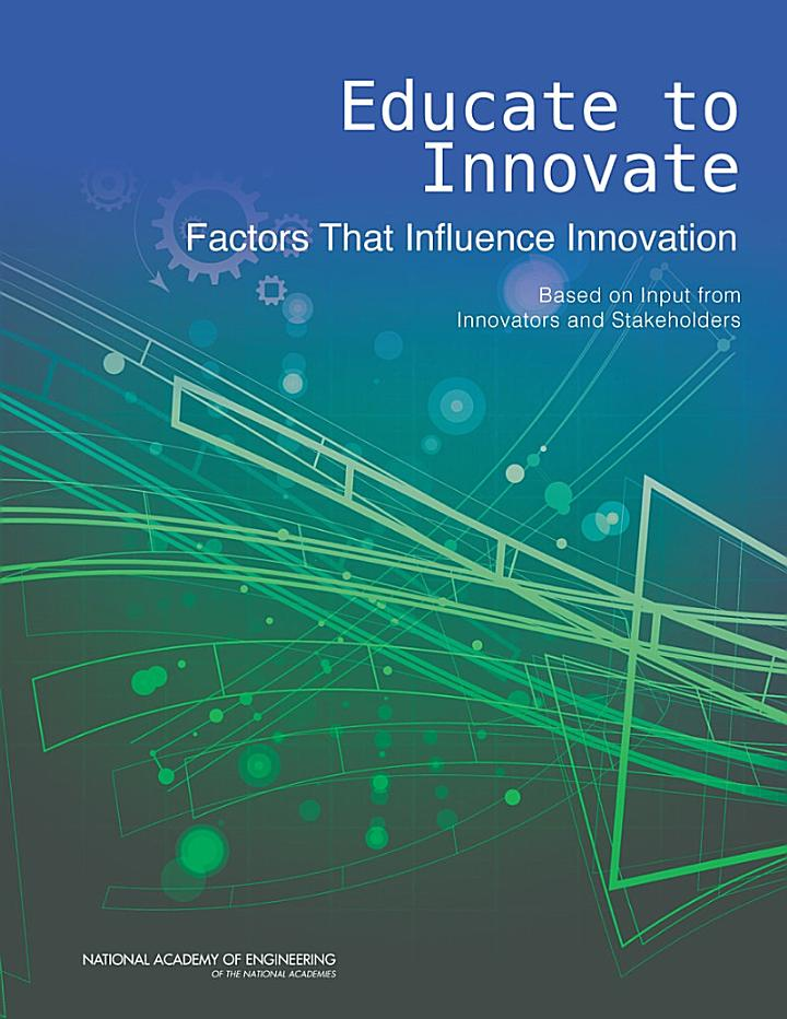 Educate to Innovate