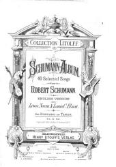 Schumann-Album: 40 selected songs