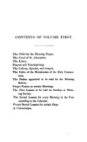 The form of Morning  Evening  prayer     together with the Psalms  To which are added the first lessons to be read on Sundays and the second lessons as they are to be said every morning  arranged by the hon  C  Grimston PDF