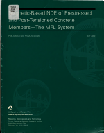 Magnetic based NDE of Prestressed and Post tensioned Concrete Members PDF