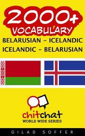 2000+ Belarusian - Icelandic Icelandic - Belarusian Vocabulary