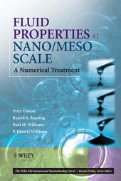 Fluid Properties at Nano/Meso Scale: A Numerical Treatment