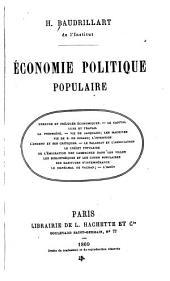 Économie politique populaire