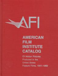 AFI Catalog of Motion Pictures Produced in the United States