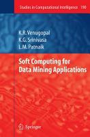 Soft Computing for Data Mining Applications PDF