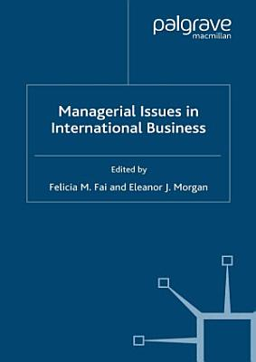 Managerial Issues in International Business PDF