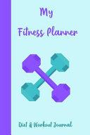 My Fitness Planner Diet   Workout Journal PDF