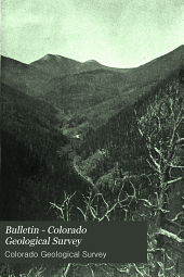 Bulletin - Colorado Geological Survey: Volume 9