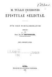 M. Tullii Ciceronis. Epistulae selectae
