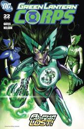 Green Lantern Corps (2006-) #22