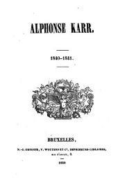 Alphonse Karr 1840-1841; Les Guêpes