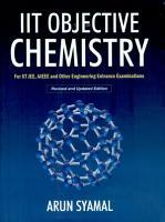 Iit Objective Chemistry PDF