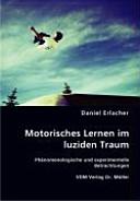 Motorisches Lernen im luziden Traum PDF