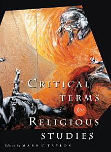 Critical Terms for Religious Studies Book