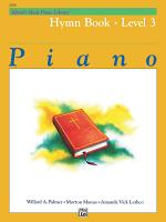 Alfred's Basic Piano Library - Hymn Book 3