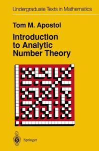 Introduction to Analytic Number Theory PDF