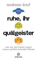 Ruhe  ihr Qu  lgeister PDF