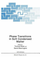 Phase Transitions in Soft Condensed Matter