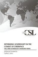 Rethinking Sovereignty in the Context of Cyberspace