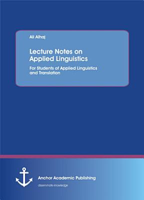 Lecture Notes on Applied Linguistics PDF